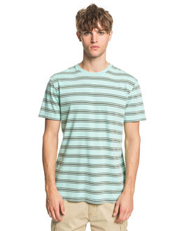 BEACH GLASS CAPITOA MENS CLOTHING QUIKSILVER TEES - EQYKT03974-GCZ3