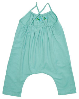 DEEP AQUA KIDS TODDLER GIRLS ISLAND STATE CO DRESSES + PLAYSUITS - MXCNPLYST-AQUA