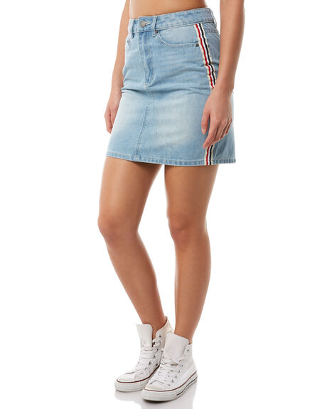 WASHED BLUE OUTLET WOMENS THE FIFTH LABEL SKIRTS - 40180247WSHBL