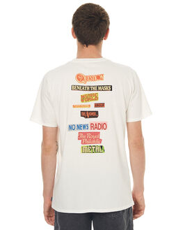 NOT WHITE MENS CLOTHING NO NEWS TEES - N5171004NOTWH