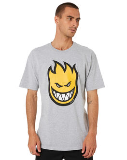 ATHLETIC HEATHER YELLOW MENS CLOTHING SPITFIRE TEES - 51010927FATHH