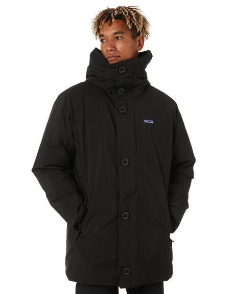 BLACK MENS CLOTHING PATAGONIA JACKETS - 27975BLK