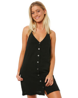 BLACK OUTLET WOMENS RVCA DRESSES - R282758BLK
