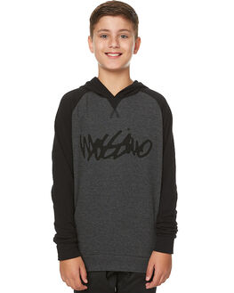 BLACK KIDS BOYS MOSSIMO JUMPERS - 3M75DHBLK
