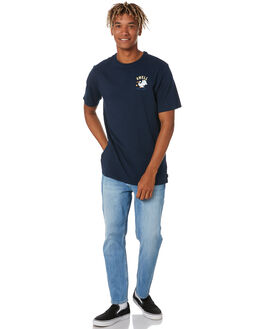 HERITAGE NAVY MENS CLOTHING SWELL TEES - S5211005HERNY