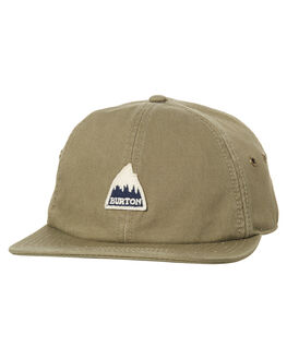 DUSTY OLIVE MENS ACCESSORIES BURTON HEADWEAR - 173801300