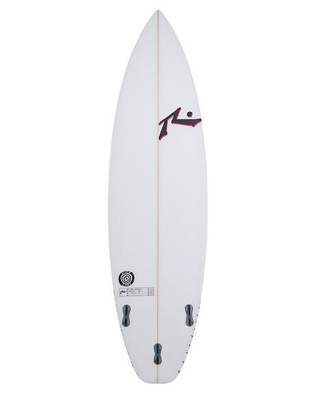CLEAR SURF SURFBOARDS RUSTY PERFORMANCE - RUBUCKSHOTCLR