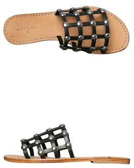 BLACK WOMENS FOOTWEAR URGE FASHION SANDALS - URG17058BLK