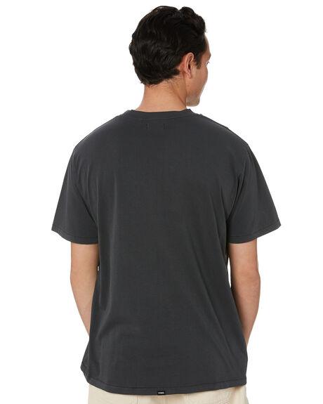 MERCH BLACK MENS CLOTHING THRILLS TEES - TS20-114BMMBK