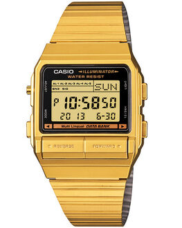 GOLD MENS ACCESSORIES CASIO WATCHES - DB380G-1DFGLD