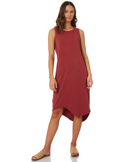 BURGANDY WOMENS CLOTHING SILENT THEORY DRESSES - 6041017BURG