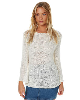 IVORY WOMENS CLOTHING THE FIFTH LABEL KNITS + CARDIGANS - TC170106KIVR1