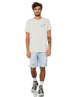 WHITE CHALK MENS CLOTHING DEUS EX MACHINA TEES - DMP201466WHCHK