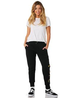 BLACK WOMENS CLOTHING ZOO YORK PANTS - ZY-WPC8387BLK