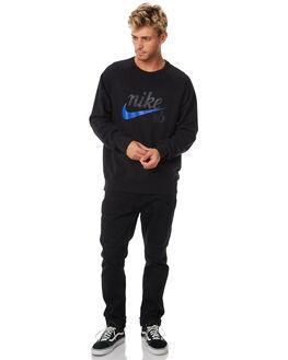 BLACK MENS CLOTHING NIKE JUMPERS - 886092010