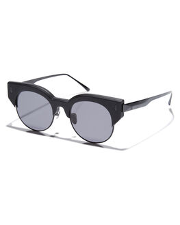 MATTE BLACK GLOSS UNISEX ADULTS VALLEY SUNGLASSES - S0338MTBLK