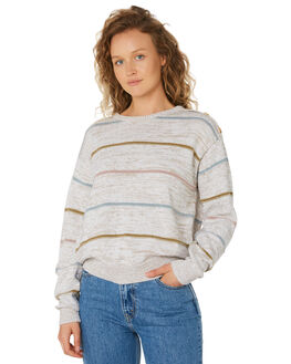 STRIPE WOMENS CLOTHING THE HIDDEN WAY KNITS + CARDIGANS - H8194147STRIPE