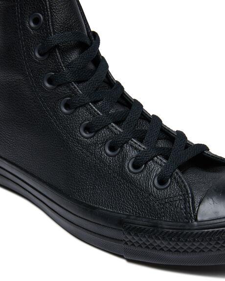 BLACK MONOCHROME WOMENS FOOTWEAR CONVERSE SNEAKERS - SS135251BLKMOW