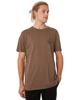 OLIVE MENS CLOTHING SWELL TEES - S52011001OLIVE