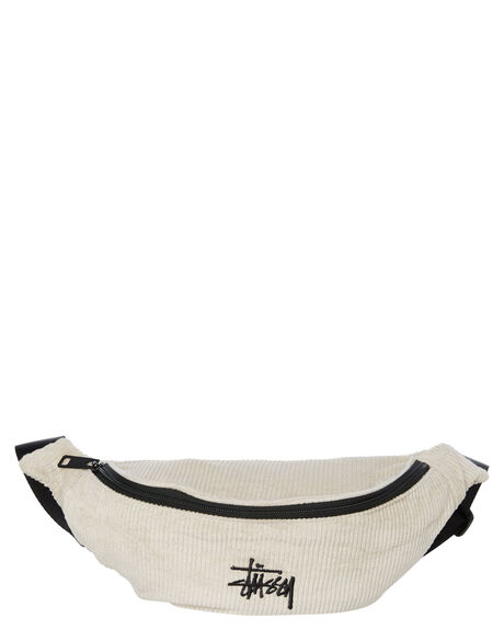 WHITE SAND MENS ACCESSORIES STUSSY BAGS + BACKPACKS - ST791013WHTSD