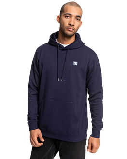DARK INDIGO MENS CLOTHING DC SHOES JUMPERS - EDYFT03453-BYK0