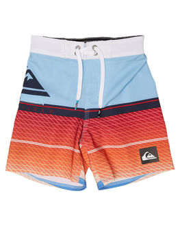 DUSK BLUE KIDS TODDLER BOYS QUIKSILVER BOARDSHORTS - EQKBS03163BHC6
