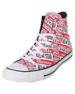 WHITE MENS FOOTWEAR CONVERSE SNEAKERS - 166984CWHT