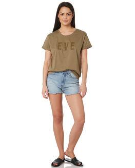 KHAKI WOMENS CLOTHING ALL ABOUT EVE TEES - 6424057KHAK