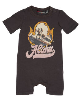 BLACK KIDS BABY ROCK YOUR BABY CLOTHING - BBB19108-ALBLK