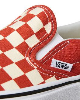 HOT SAUCE WOMENS FOOTWEAR VANS SLIP ONS - VNA38F7ULLHSCE
