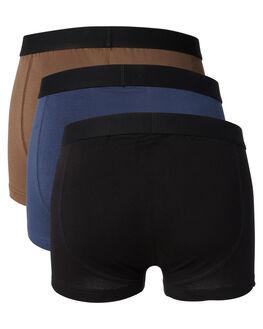 BLACK NAVY MILITARY MENS CLOTHING SWELL SOCKS + UNDERWEAR - S5164421BKNML