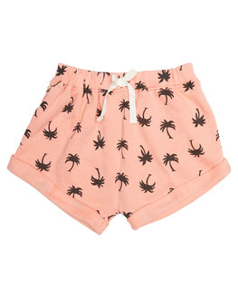 TROPICAL PEACH KIDS TODDLER GIRLS BILLABONG SHORTS - 5571281TROP