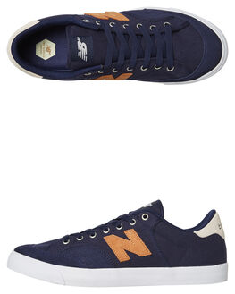 NAVY BRONZE MENS FOOTWEAR NEW BALANCE SKATE SHOES - NM212DKG
