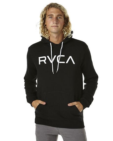 BLACK MENS CLOTHING RVCA JUMPERS - R163163BLK