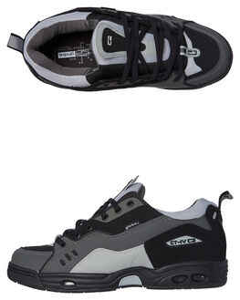 BATTLESHIP BLACK MENS FOOTWEAR GLOBE SKATE SHOES - GBCTIVC-14002
