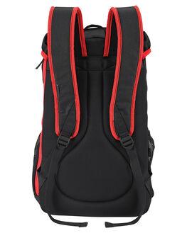 BLACK RED MENS ACCESSORIES NIXON BAGS + BACKPACKS - C2817008