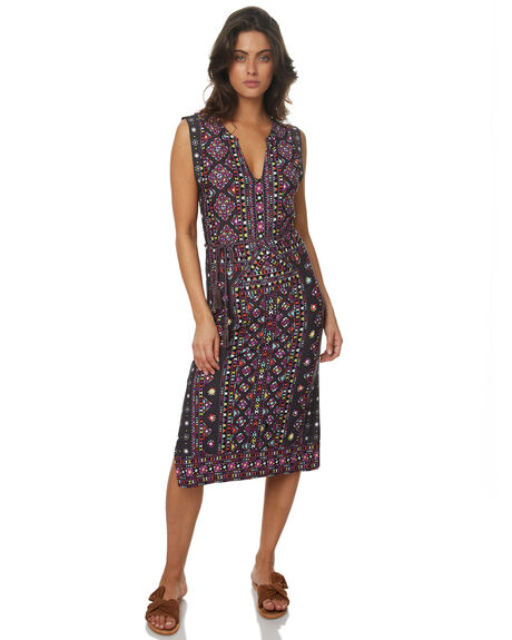 CHARCOAL WOMENS CLOTHING TIGERLILY DRESSES - T372434CHA