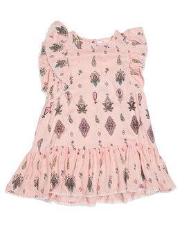 PINK BOHO PRINT KIDS TODDLER GIRLS EVES SISTER DRESSES - 8000051PRNT