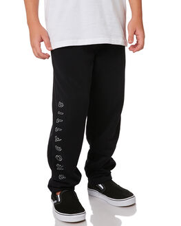 BLACK KIDS BOYS BILLABONG PANTS - 8595302BLK