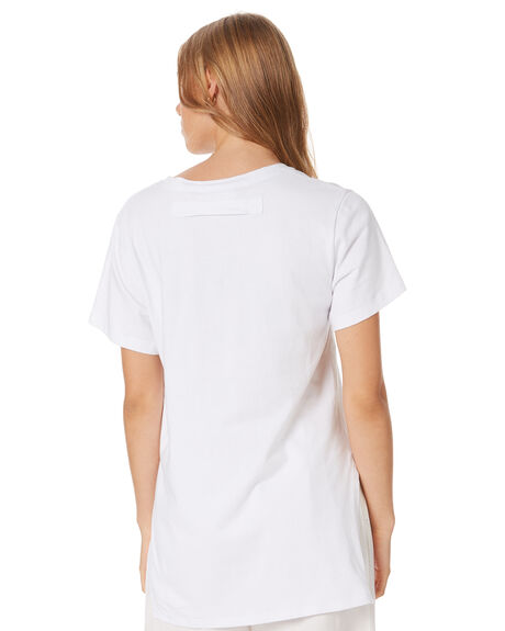 WHITE WOMENS CLOTHING GINGER AND SMART TEES - R20110WHT