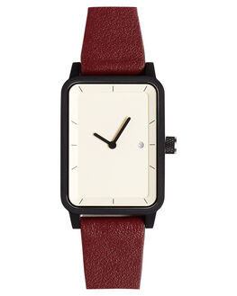 BURGUNDY WHITE BLACK WOMENS ACCESSORIES SIMPLE WATCH CO WATCHES - SW07-36BURG