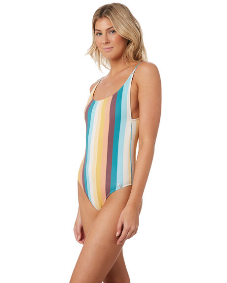SUNDOWN WOMENS SWIMWEAR RHYTHM ONE PIECES - JUL19W-SW05SUN