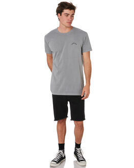 STONE WASH GREY MENS CLOTHING ALOHA ZEN TEES - AZ468STWSH