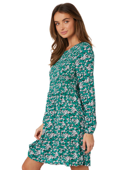 LIBERTY PRINT WOMENS CLOTHING SASS DRESSES - 12584DWSSMUL
