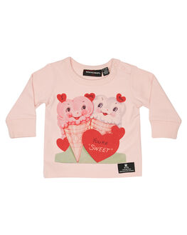 PINK KIDS BABY ROCK YOUR BABY CLOTHING - BGT1925-SLPNK