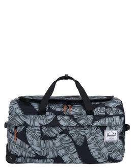 BLACK PALM MENS ACCESSORIES HERSCHEL SUPPLY CO BAGS - 10307-01984-OSBKPAL