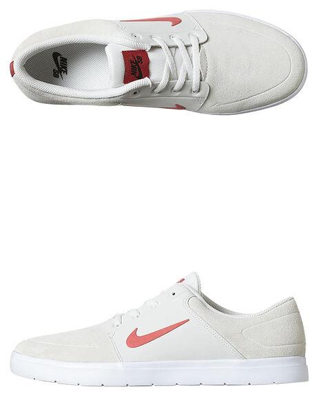 24c9587e8057 Nike Womens Sb Portmore Vapor Shoe - Ivory Ember Black