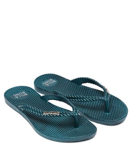 TEAL WOMENS FOOTWEAR BILLABONG THONGS - 6661856TEAL