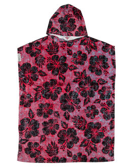 RED WOMENS ACCESSORIES LEUS TOWELS TOWELS - 02POCCRDADRED