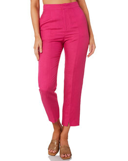 PINK WOMENS CLOTHING TIGERLILY PANTS - T392384PINK